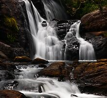 Bakers Fall. Horton Plains National Park. Sri Lanka by JennyRainbow