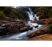 Bakers Fall  IV. Horton Plains National Park. Sri Lanka Photographic Print
