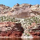 Pink Cliffs, Flaming Gorge by BrianAShaw