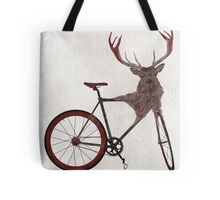 Stag Bike Tote Bag