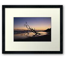 Dawn at Kingscliff Beach ... Framed Print