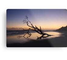 Dawn at Kingscliff Beach ... Metal Print