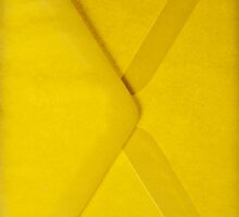 Yellow envelope by asaphus