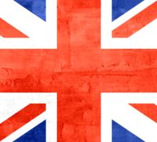 Grunge United Kingdom Flag Sticker