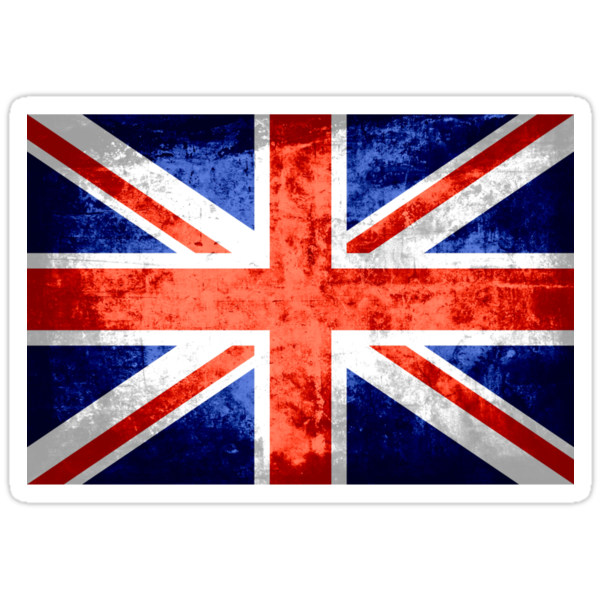 Grunge United Kingdom Flag 2 by Nhan Ngo