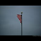 Flag Of The United States Of America - Port Jefferson, New York by © Sophie W. Smith