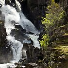 Lower Ogwen Waterfall by ajwimages
