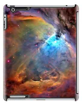 Orion Nebula iPad Case by wlartdesigns