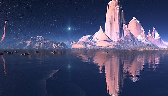 Lonely Mountain by AlienVisitor