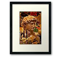 Roman Visage Framed Print