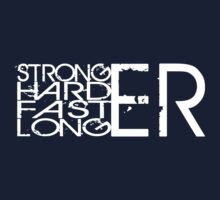 Stronger.Harder.Faster.Longer by Benjamin Whealing