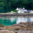 Cottage in the Menai by ajwimages