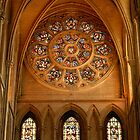 Truro cathedral rose window by Crimmy