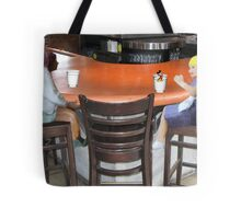Wait, Roxanne…..don't drink that!!!!  I think someone's trying to slip you a mickey!! Tote Bag