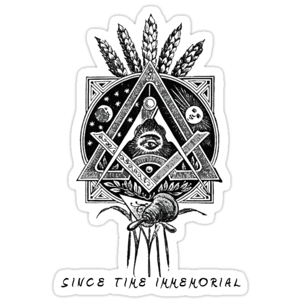 """Since Time Immemorial"" Masonic shirt by thelight"