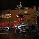 rail crossing by Bruce  Dickson