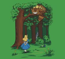 My Neighbor in Wonderland (Kelly Green) T-Shirt