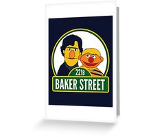 Baker Street Greeting Card