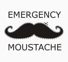 Emergency Moustache by Connor Bartlett