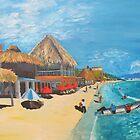Bucerias Beach by Anita Wann