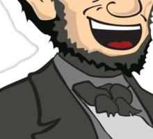 Lincoln. In 3D. Sticker