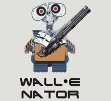 WALL E nator (WALL E + The Terminator mashup) by rydrew