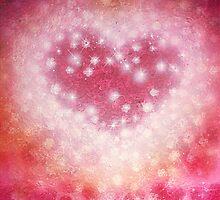 Cherry Heart by izumiomoriart