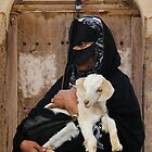 BEDOUIN LADY - OMAN by Michael Sheridan