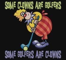 Funny Golfer by SportsT-Shirts