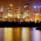 City Lights Skyline - Sydney, Australia. by Harry Roma