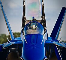 Blue Angels cockpit by Mike O'Brien