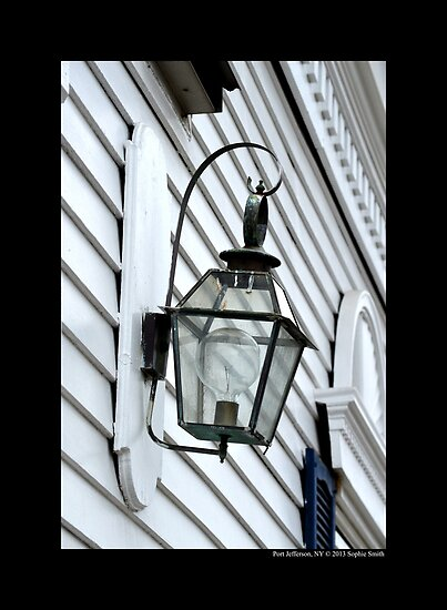 Antique Wrought Iron Lantern - Port Jefferson, New York  by © Sophie W. Smith