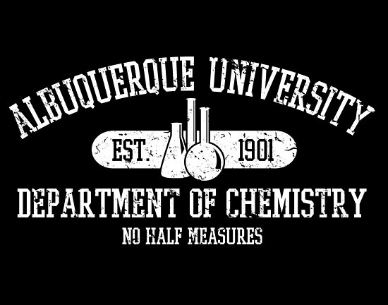 Respect the Chemistry (dark tee version) by fishbiscuit