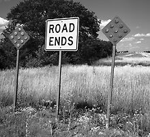 Route 66 - End of the Road by Frank Romeo