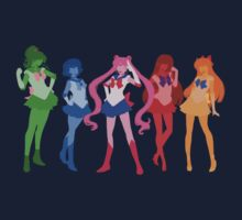 The Inner Senshi by tofudelight