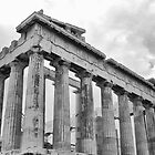 The Parthenon by Stellina Giannitsi