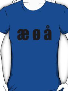 æ ø å T-Shirt