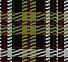 00357 Tyrone County, Crest Range District Tartan Fabric Print Iphone Case by Detnecs2013