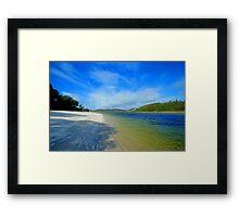 Silver Sands of Morar Framed Print