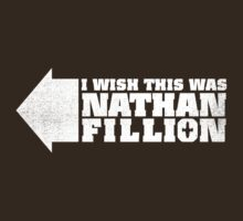 I wish this was Nathan Fillion by geekchic  tees