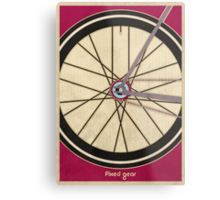 Single Speed Bicycle Metal Print