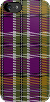 00363 Wexford County, Crest Range District Tartan Fabric Print Iphone Case by Detnecs2013