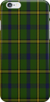 00378 Salvation Army Hunting Tartan Fabric Print Iphone Case by Detnecs2013