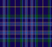 00380 Aryshire T.B Tartan Fabric Print Iphone Case by Detnecs2013