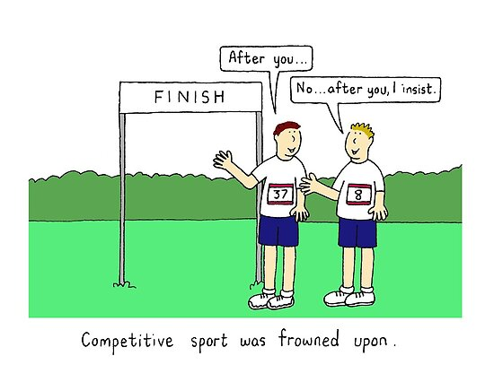 Competitive sport. by KateTaylor