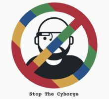Support The Humans - Stop The Cyborgs by stopthecyborgs