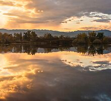 Sawhill Reflections - Colorado Sunset by Gregory J Summers