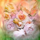Summer Roses by Carol  Cavalaris