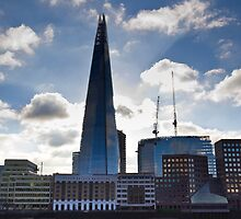 The Shard and South Bank London by DavidHornchurch