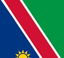 Namibia Flag by pjwuebker